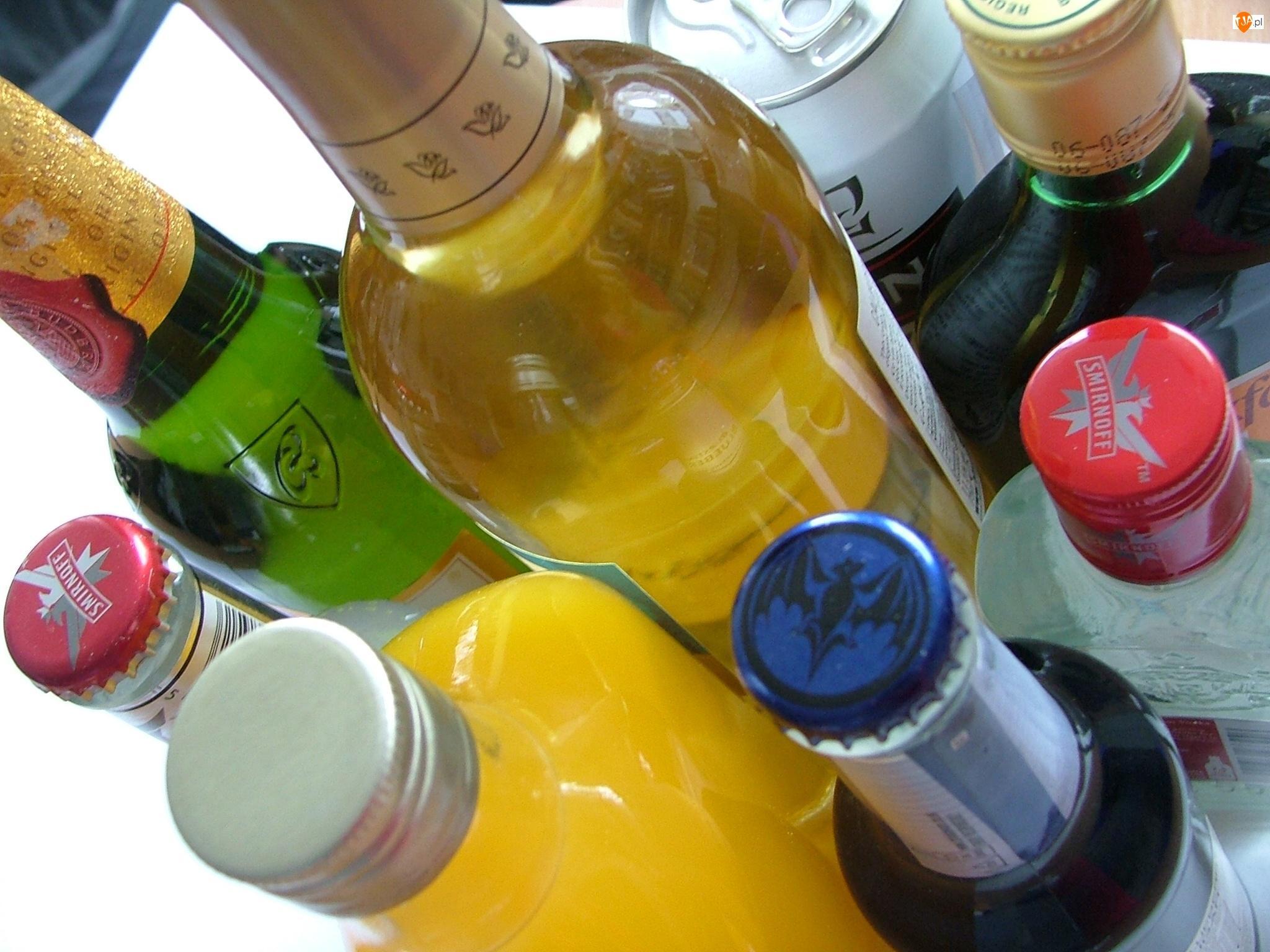 Alkohol, Butelki, Smirnoff