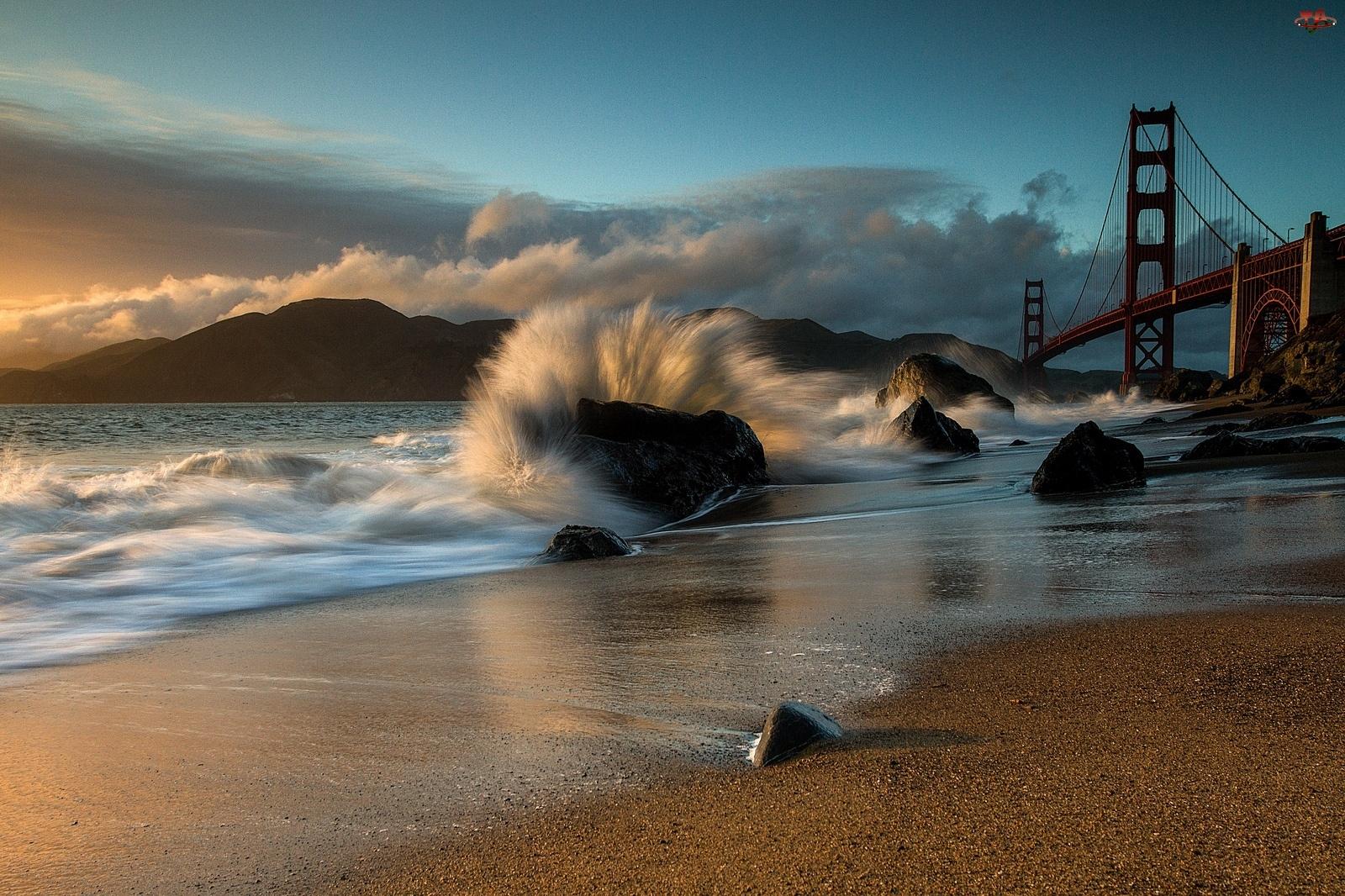 Fala, San Francisco, Most Golden Gate