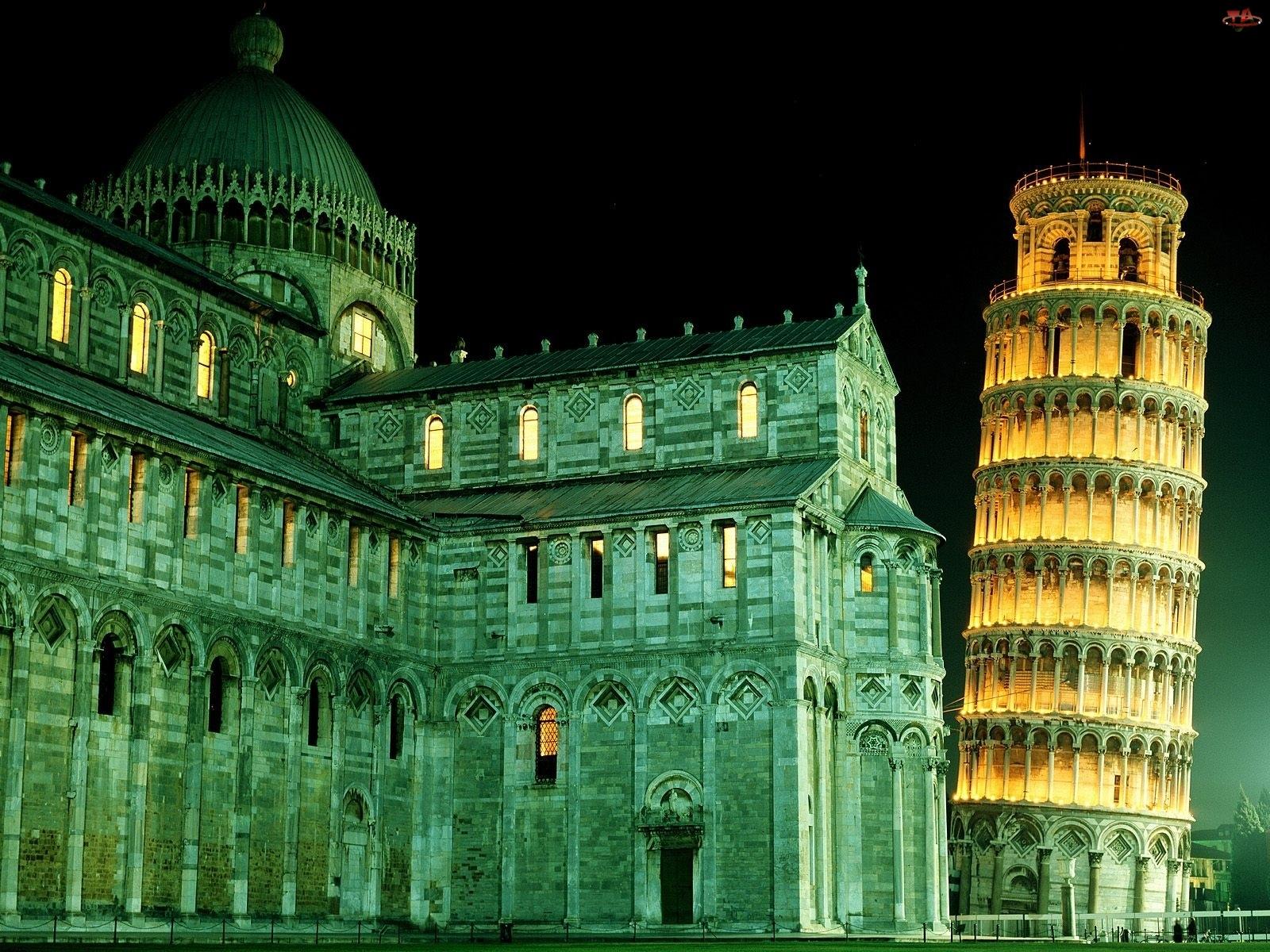 Budowle, Krzywa Wieża w Pizie, Zabytki