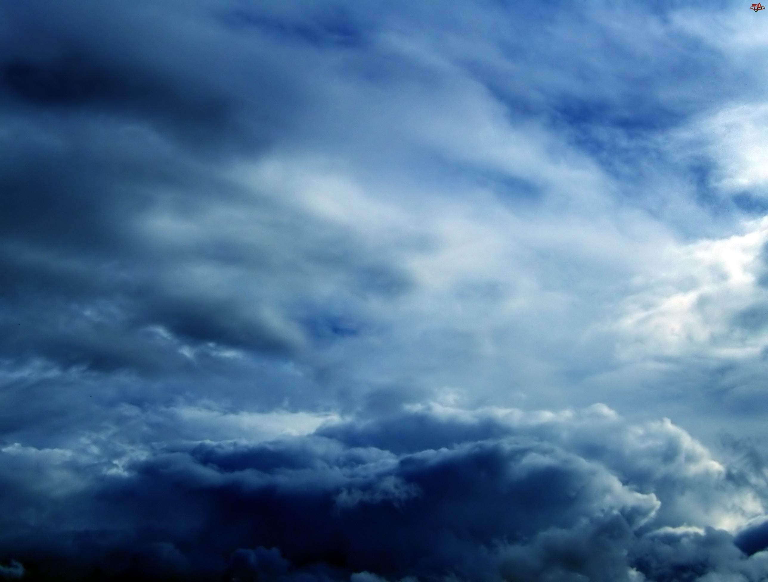 Chmury, Niebo, Burzowe
