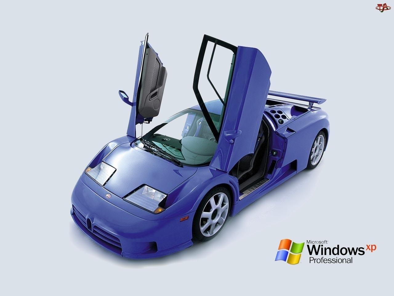 Samochód, System, Windows, Operacyjny, XP