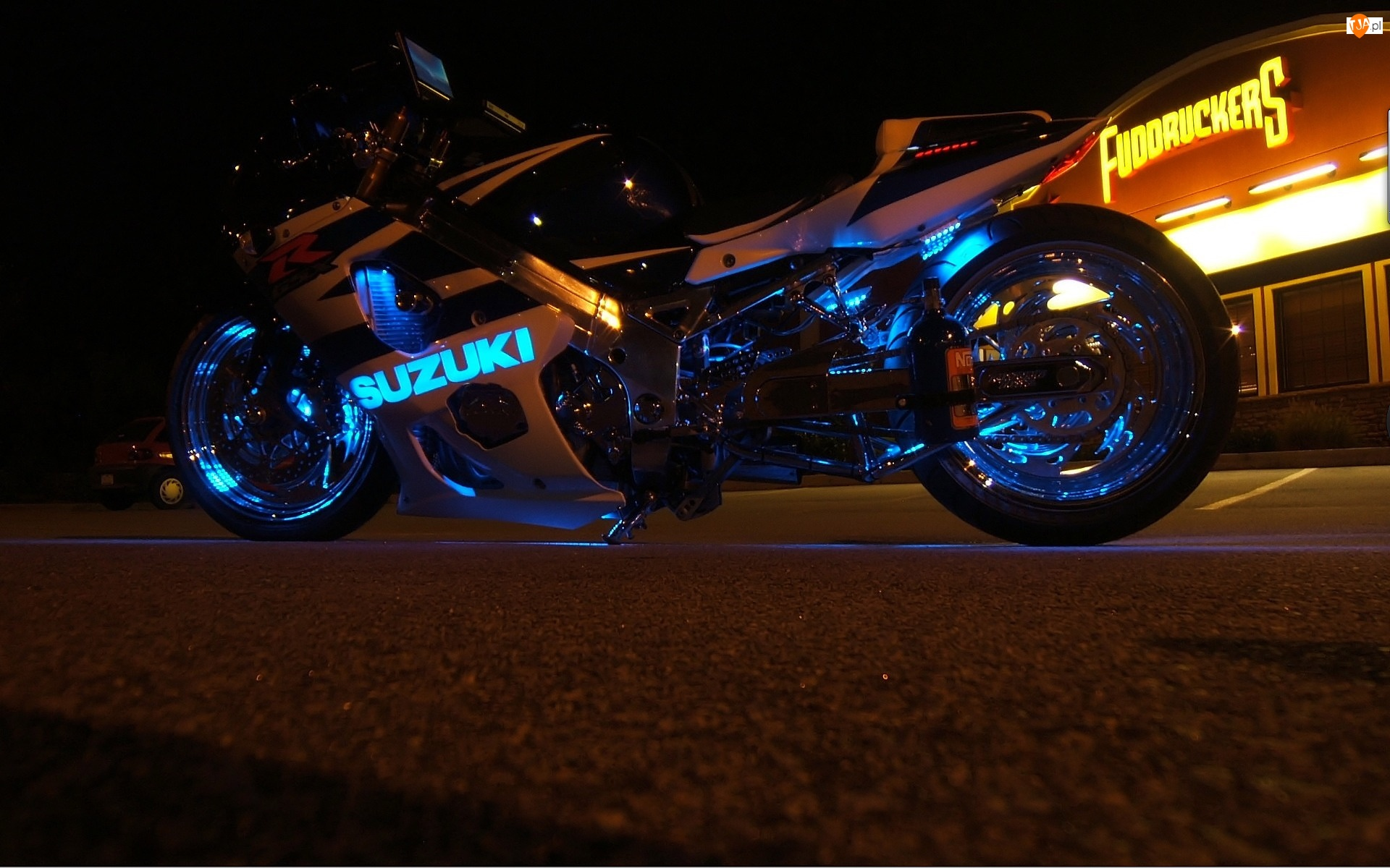 Oświetlenie, Motor, Suzuki