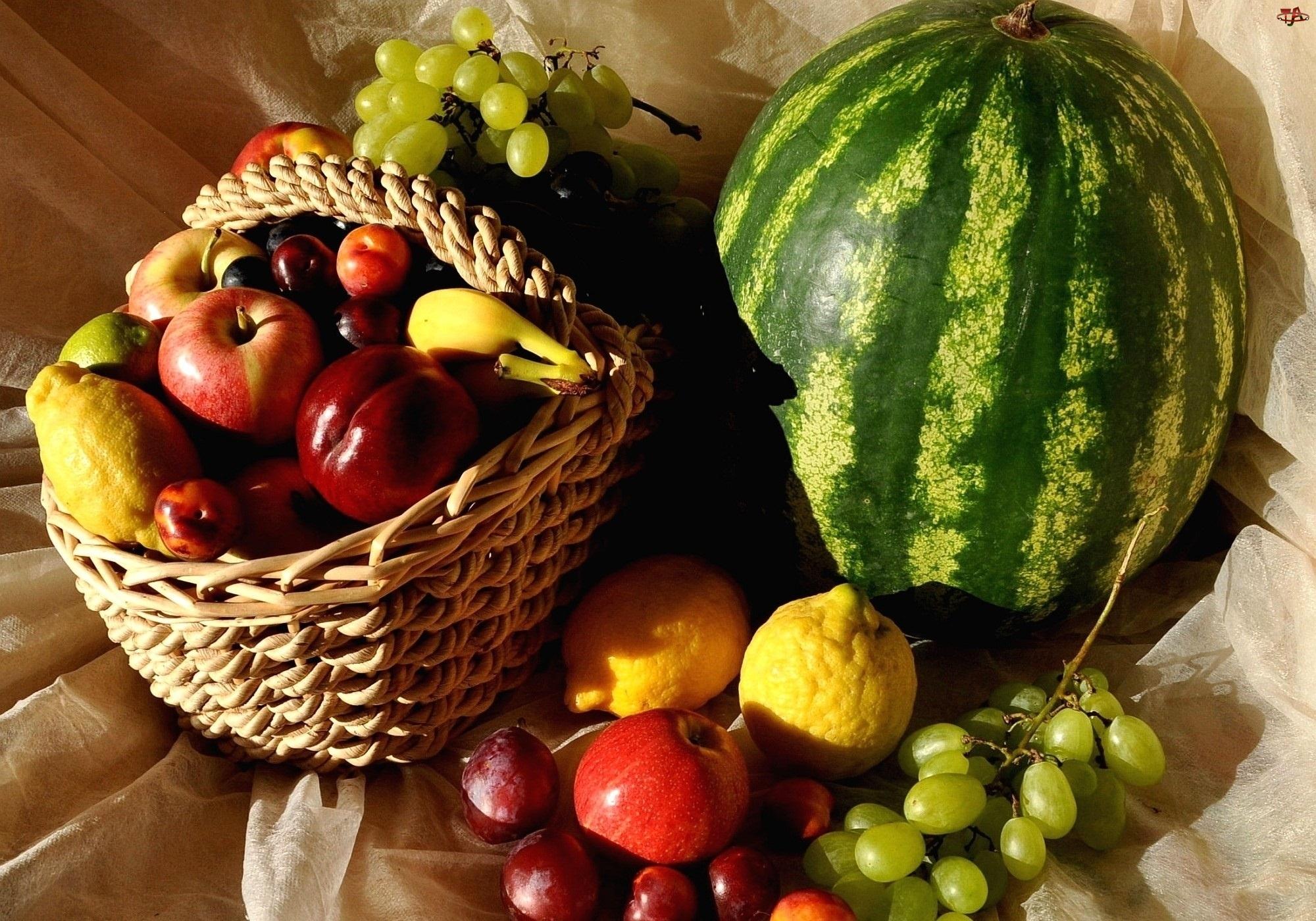 Kosz Owoce, Różnorodne, Owoce