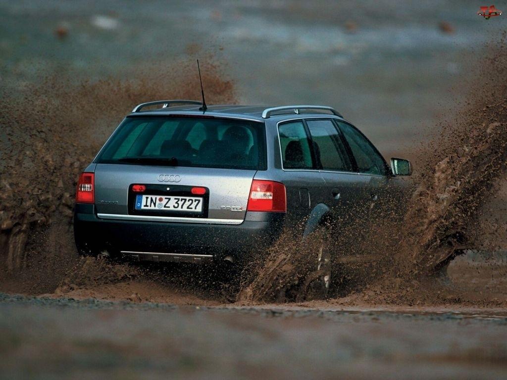 Audi Allroad, Błoto