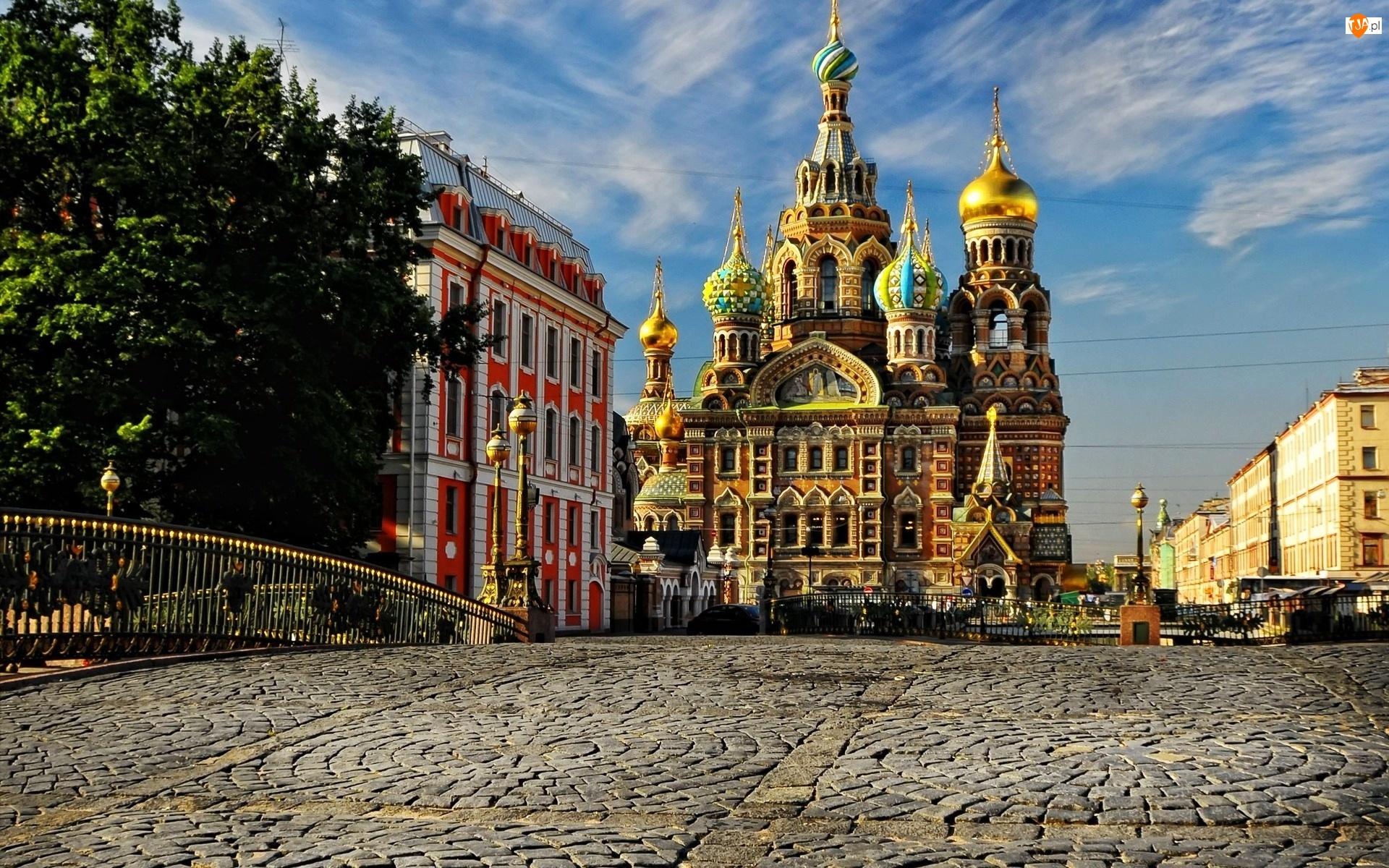 Cerkiew, Bruk, Sobór Zmartwychwstania Pańskiego, Petersburg