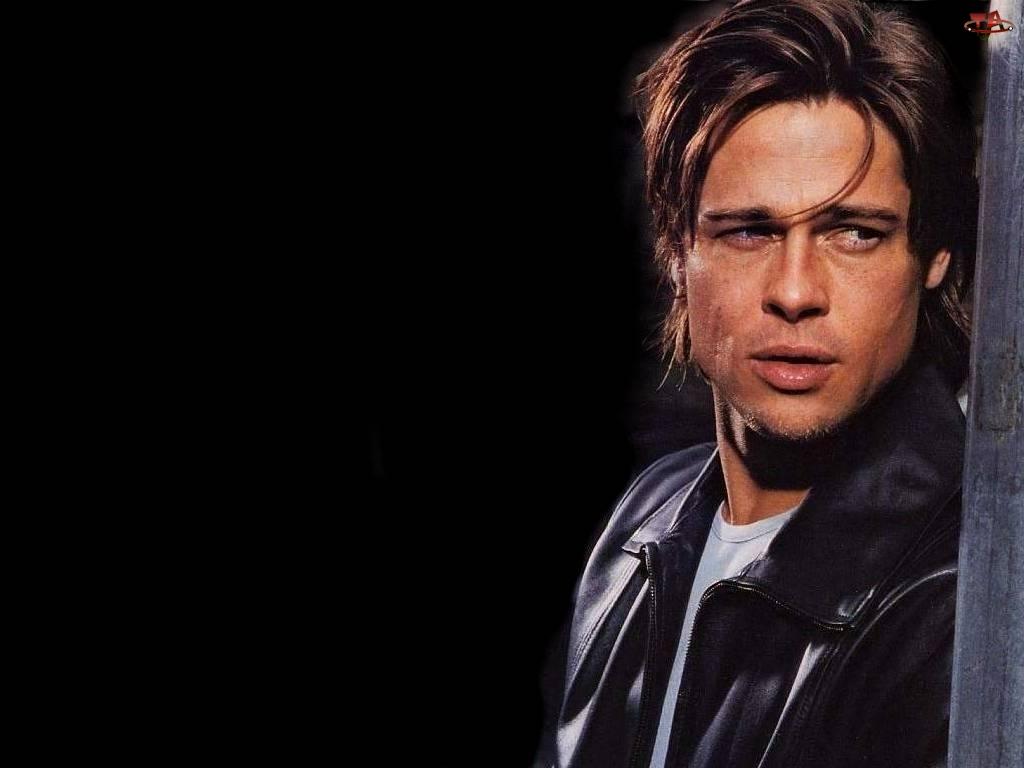 skórzana, Brad Pitt, kurtka