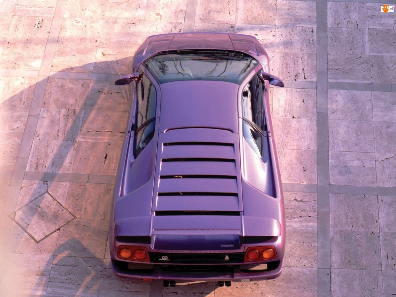 Silnika, Lamborghini Diablo, Pokrywa