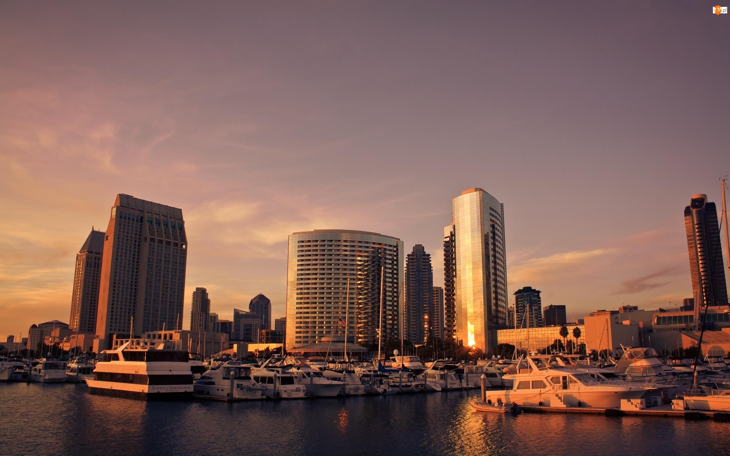 Słońca, San Diego, Zachód