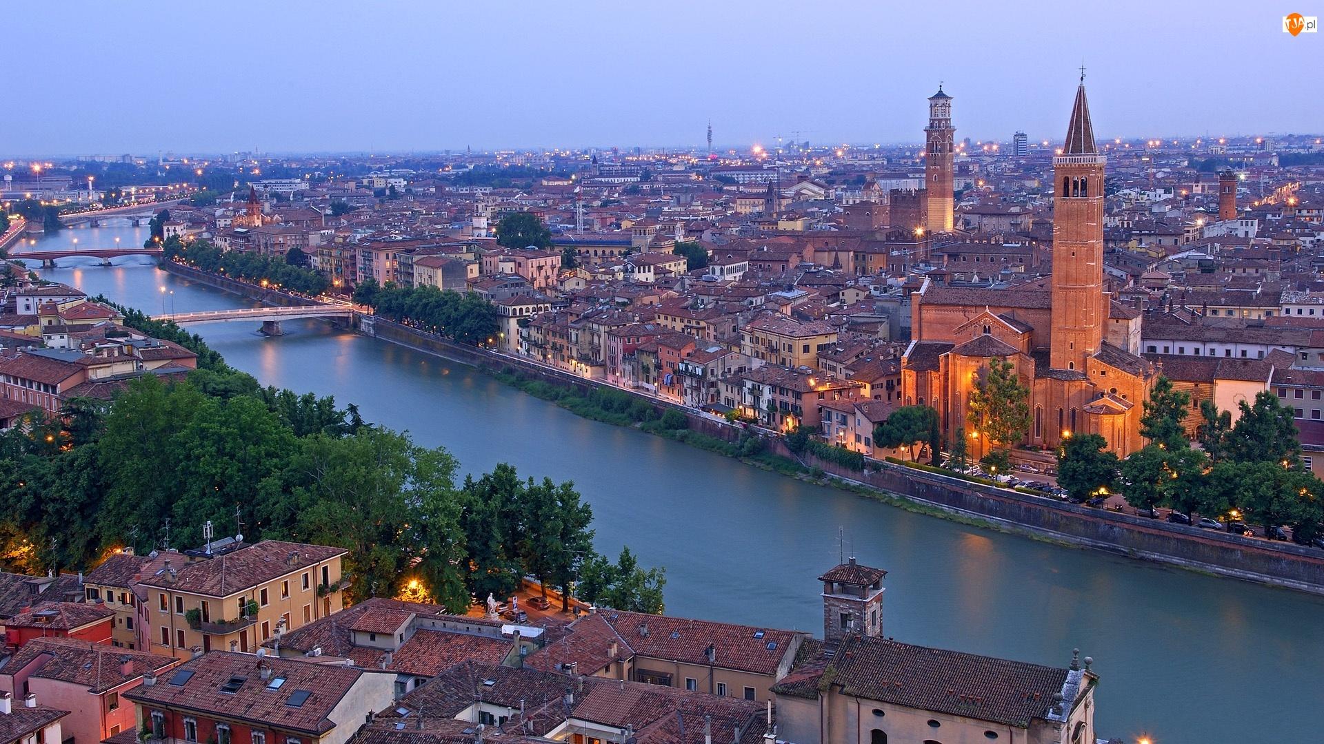 Włochy, Miasto, Verona