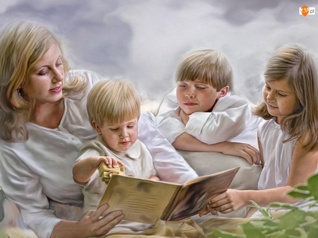Rodzina, Kobieta, Dzieci