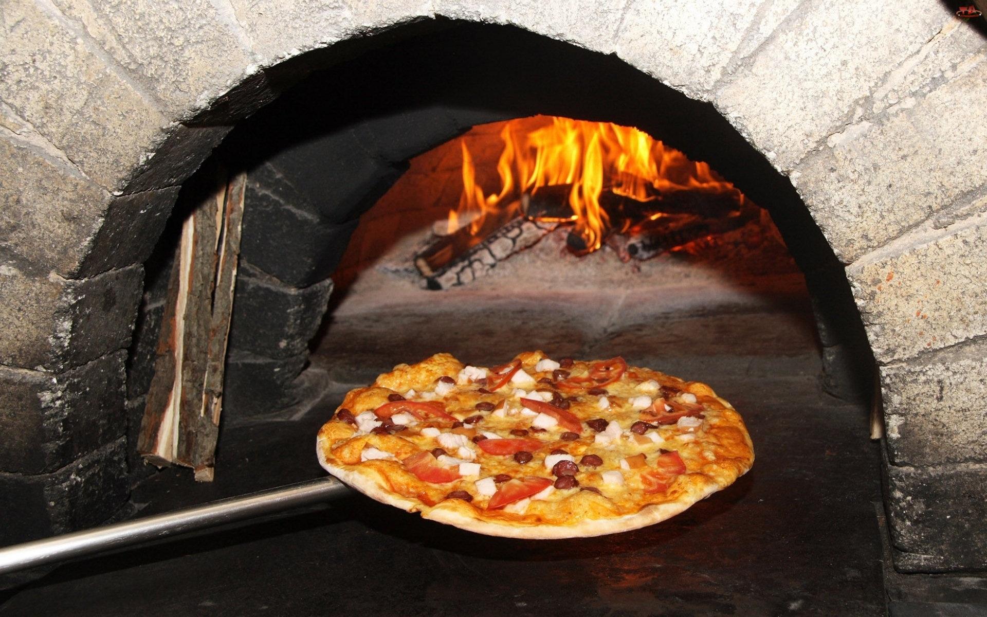 Pizza, Piec