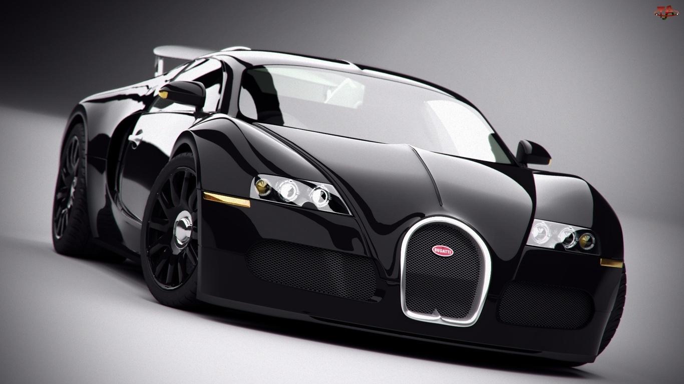 Czarny, Bugatti Veyron