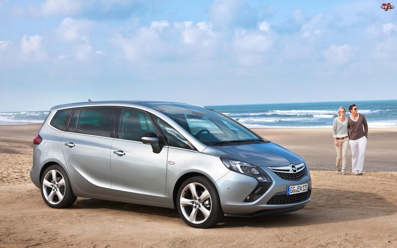 Opel Zafira III, Para, Plaża, Morze