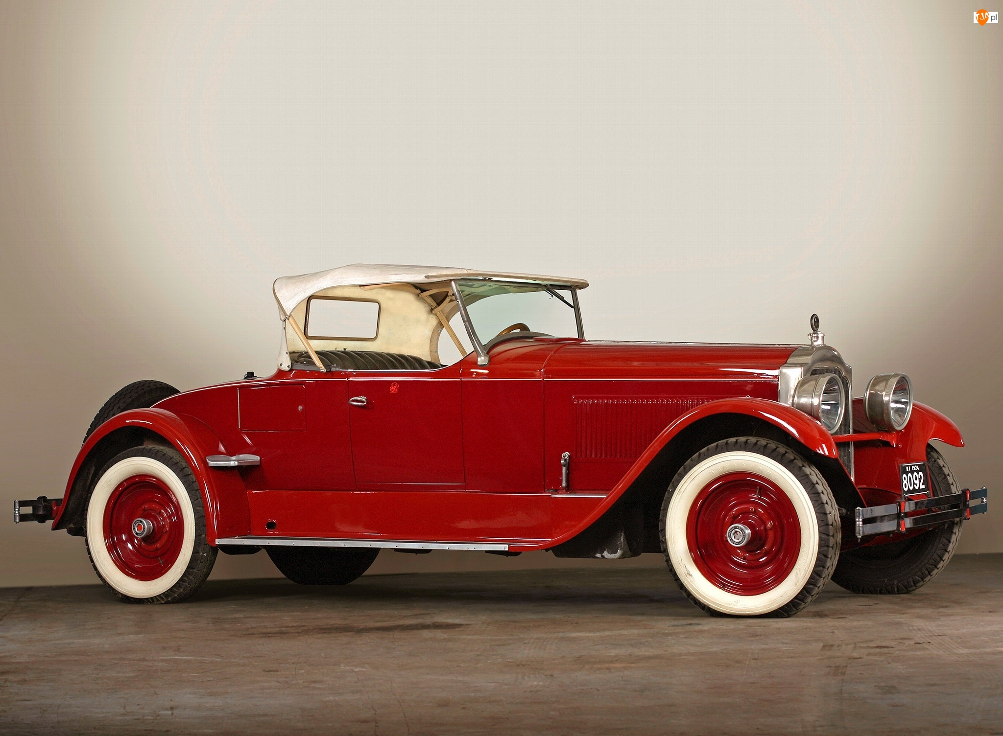 Packard Eight Runabout, 1924 Rok