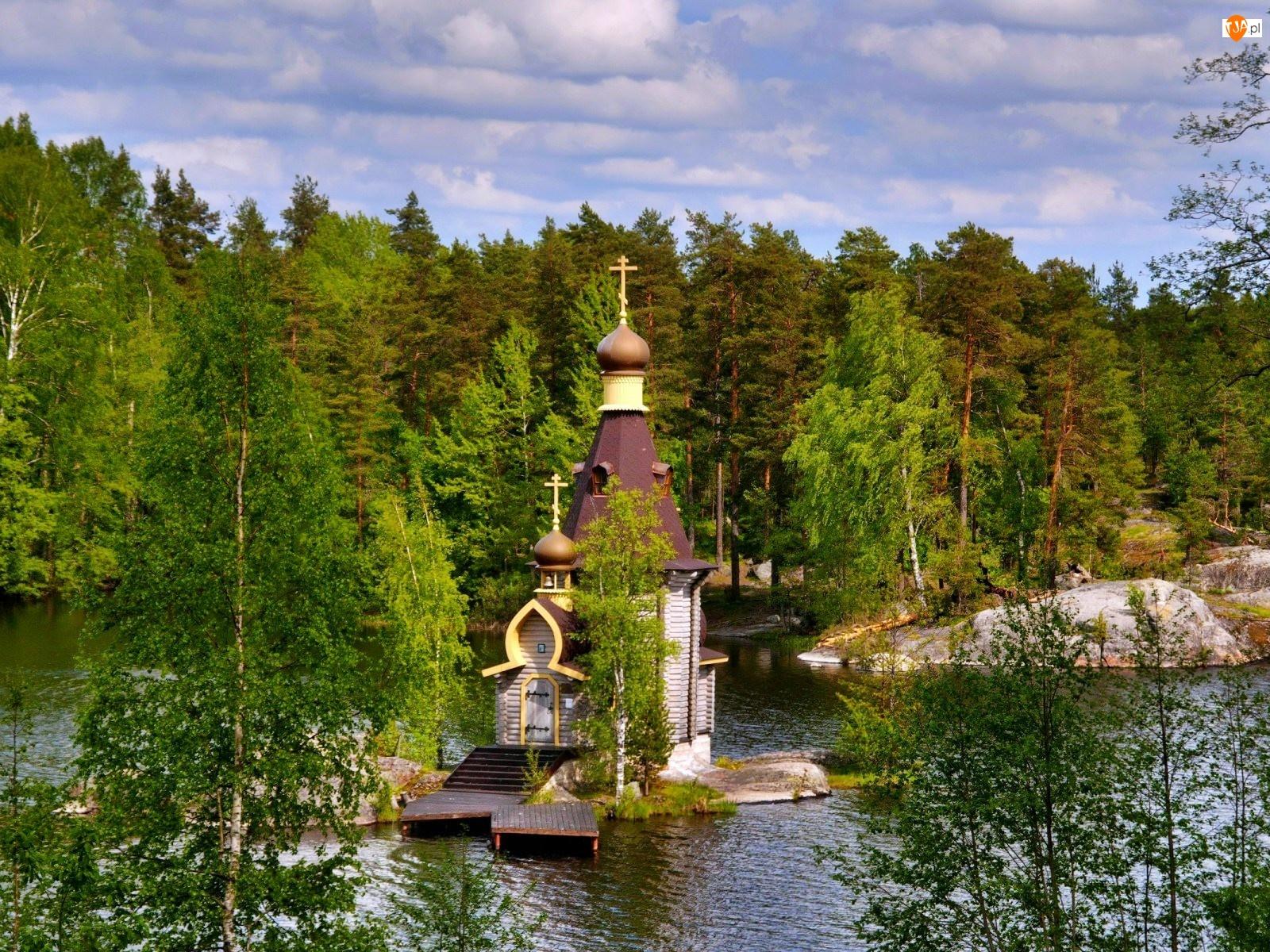 Wyspa, Jezioro, Cerkiew
