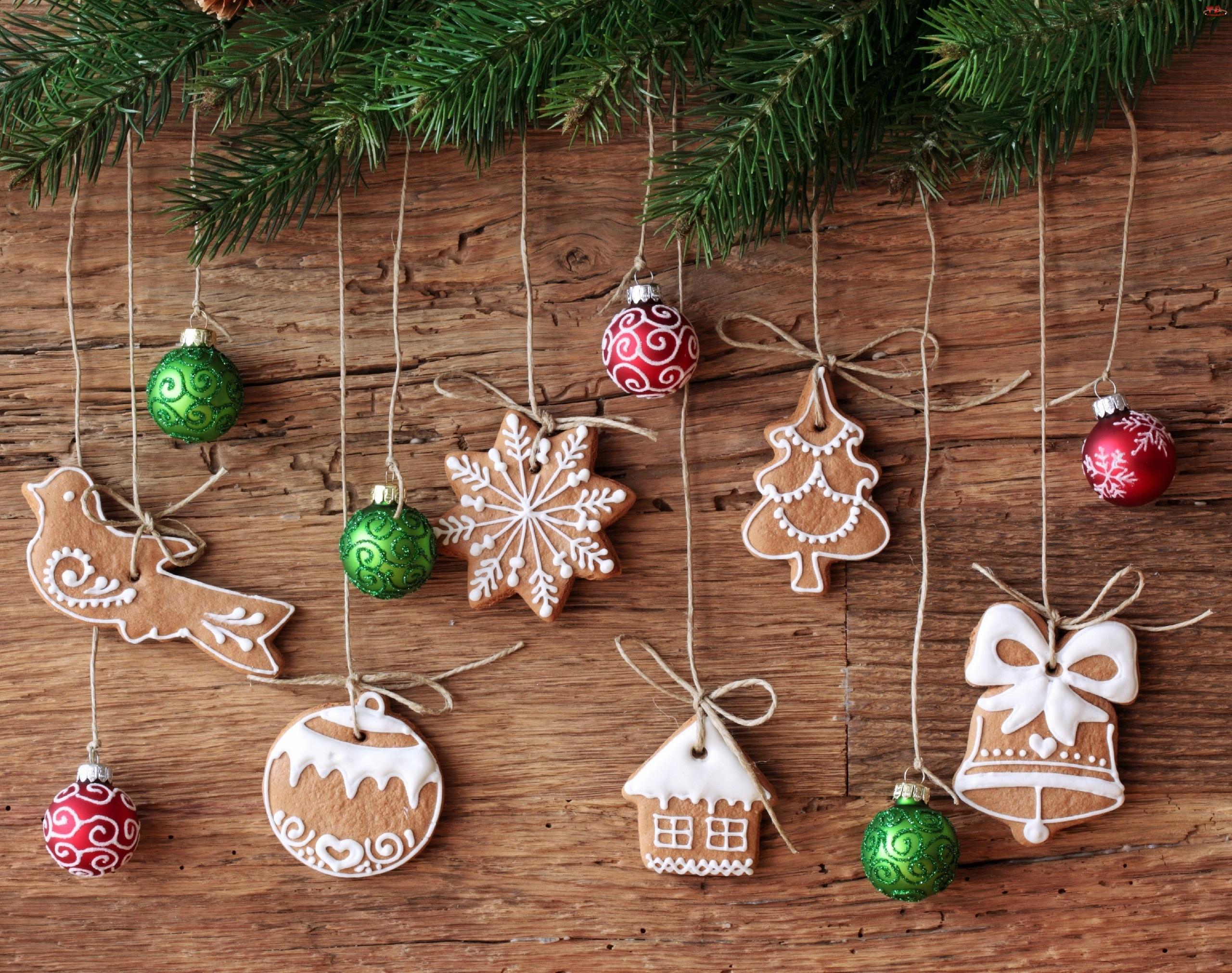 Dekoracje, Ciasteczka, Świąteczne
