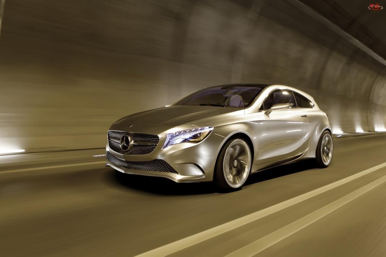 Prototyp, Mercedes, Tunel