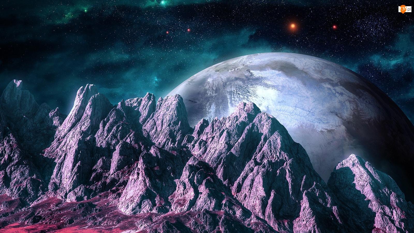 Skały, Kosmos, Planeta