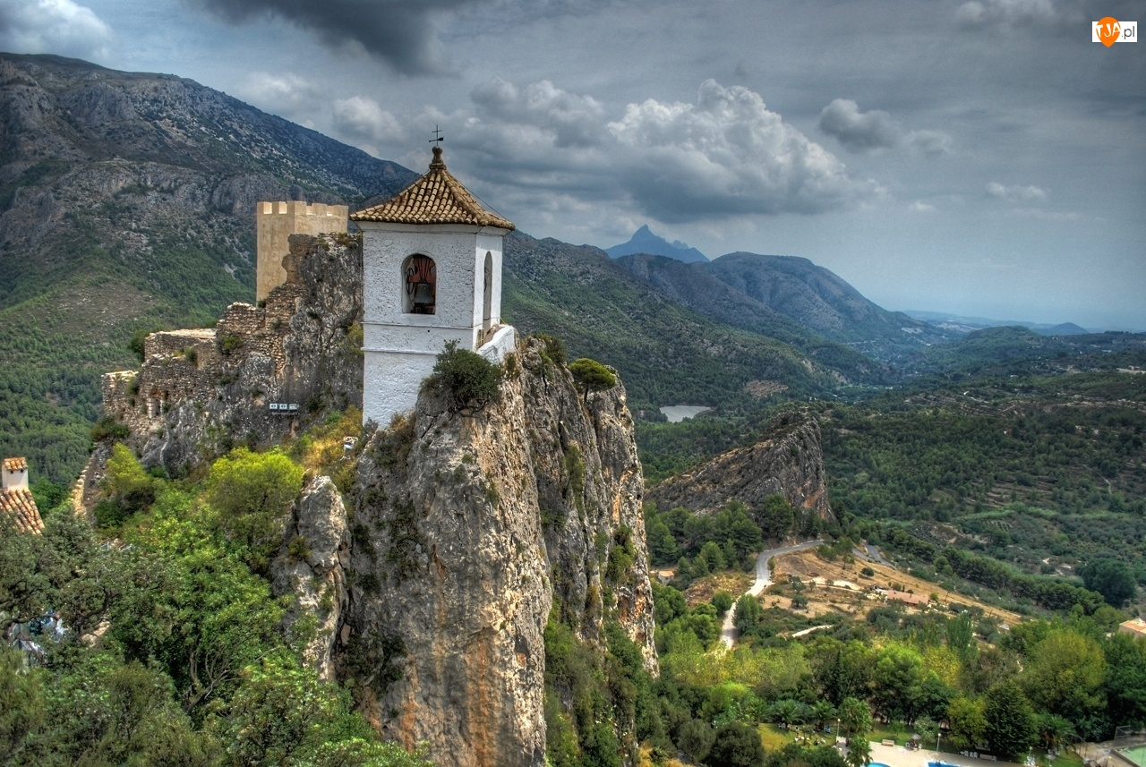 Skały, Góry, Zamek