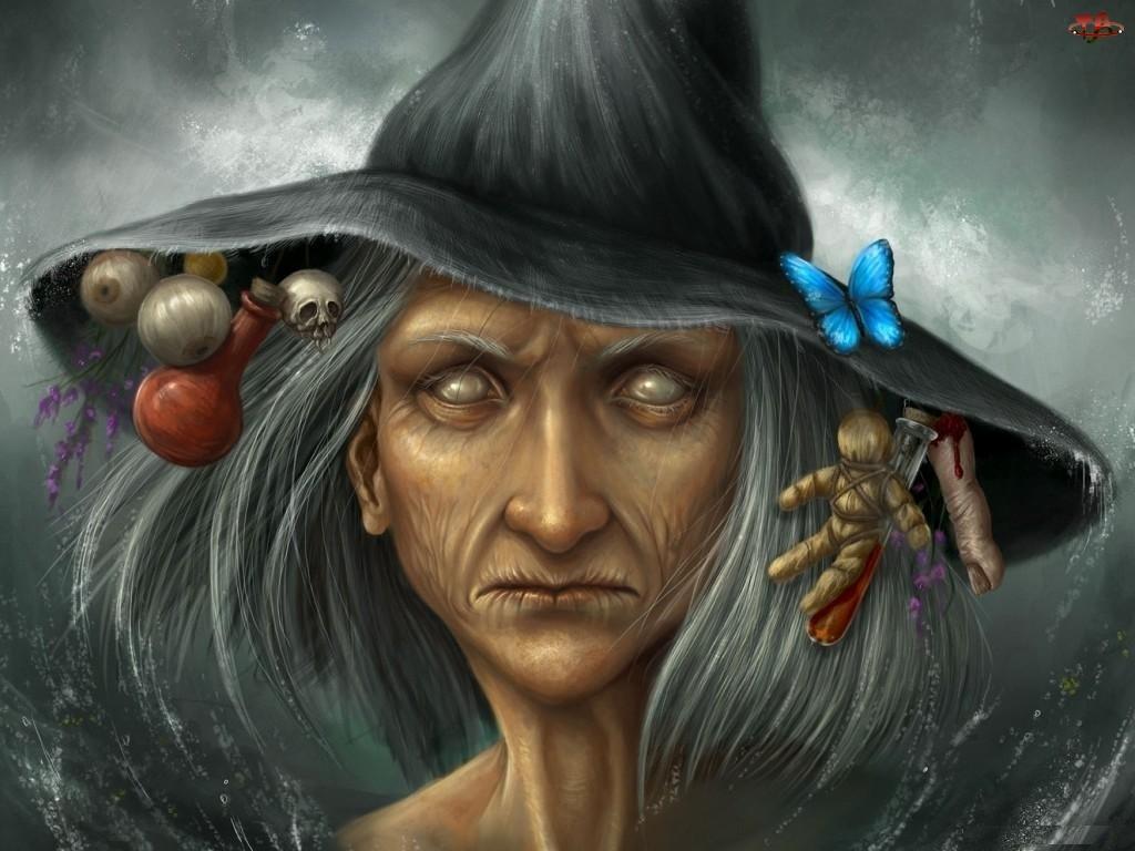 Czarownica, Kobieta, Kapelusz
