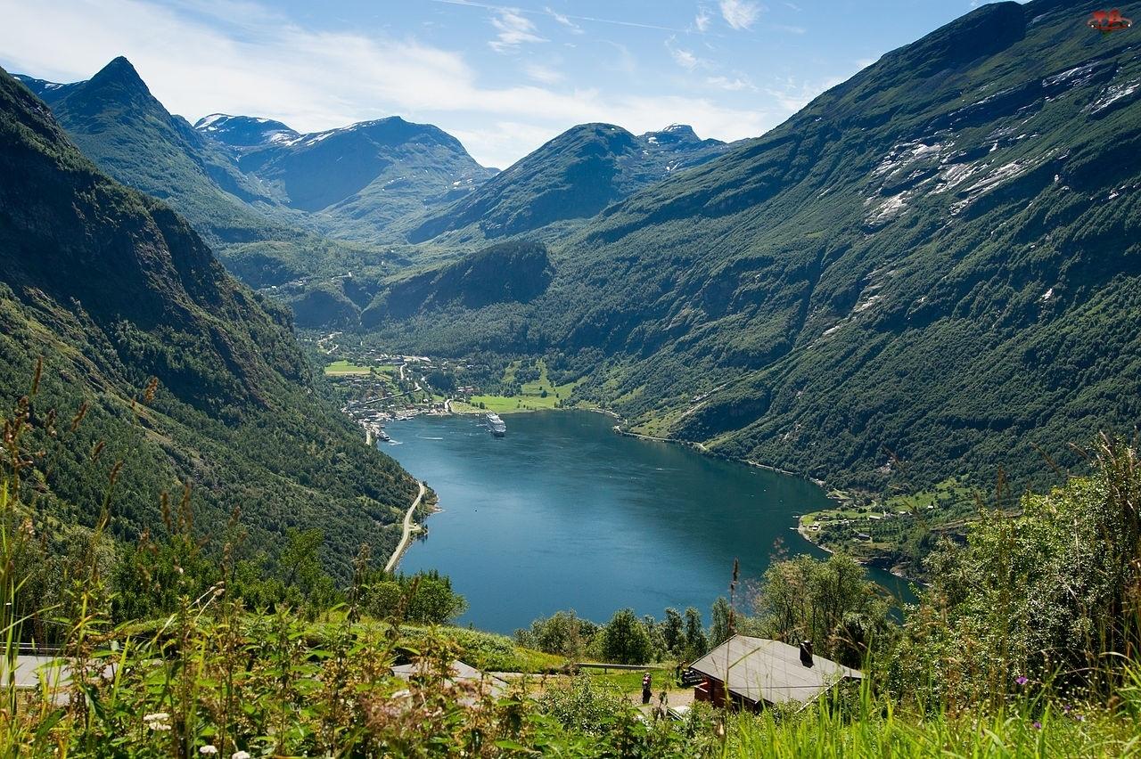 Norwegia, Góry, Fiord Geiranger