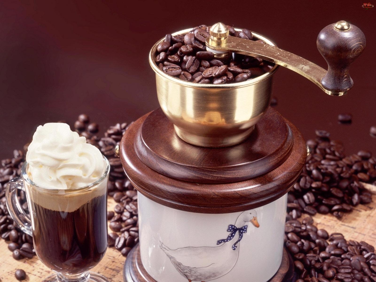 Ziarna, Młynek, Kawa