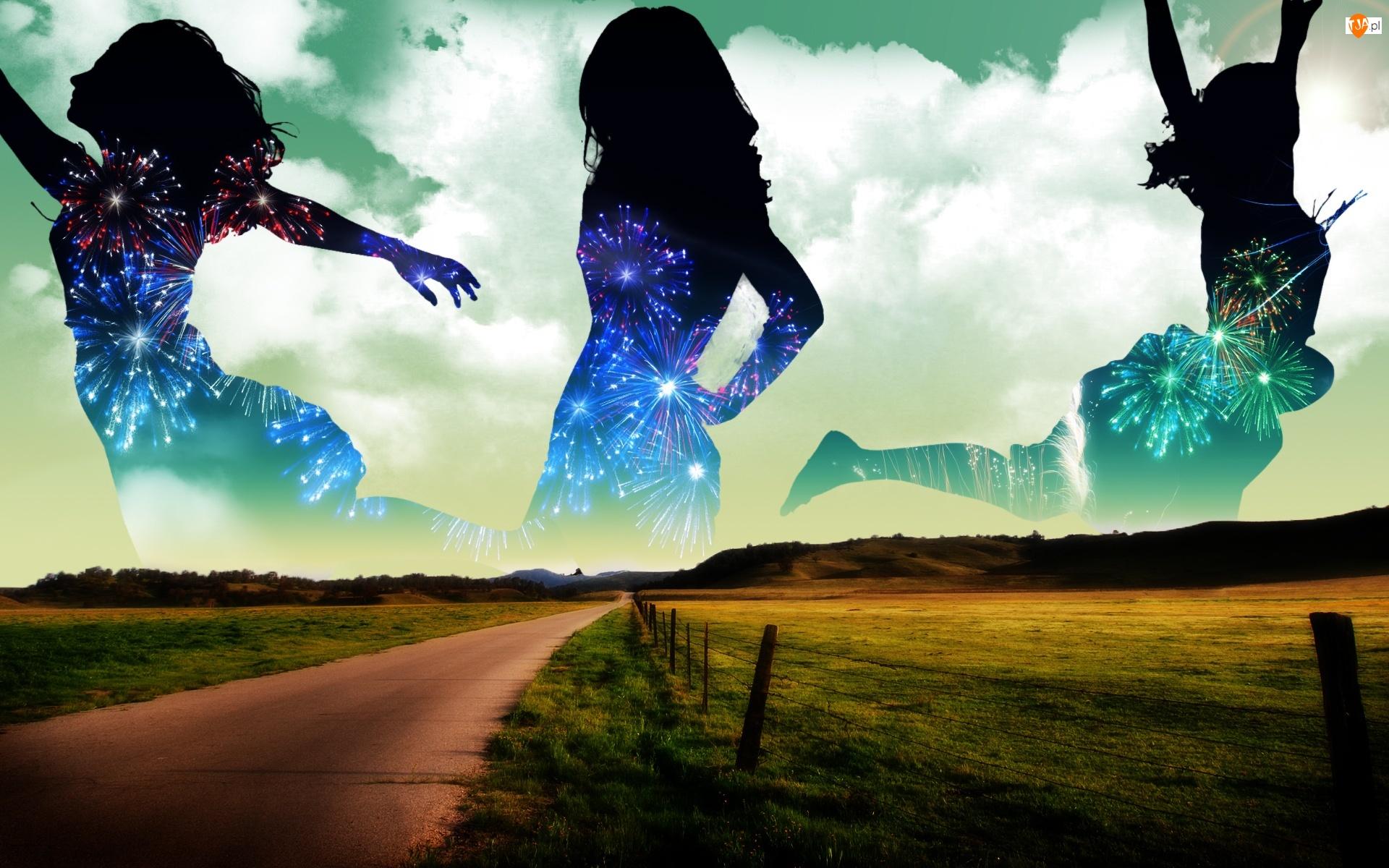Droga, Kobiety, Fajerwerki