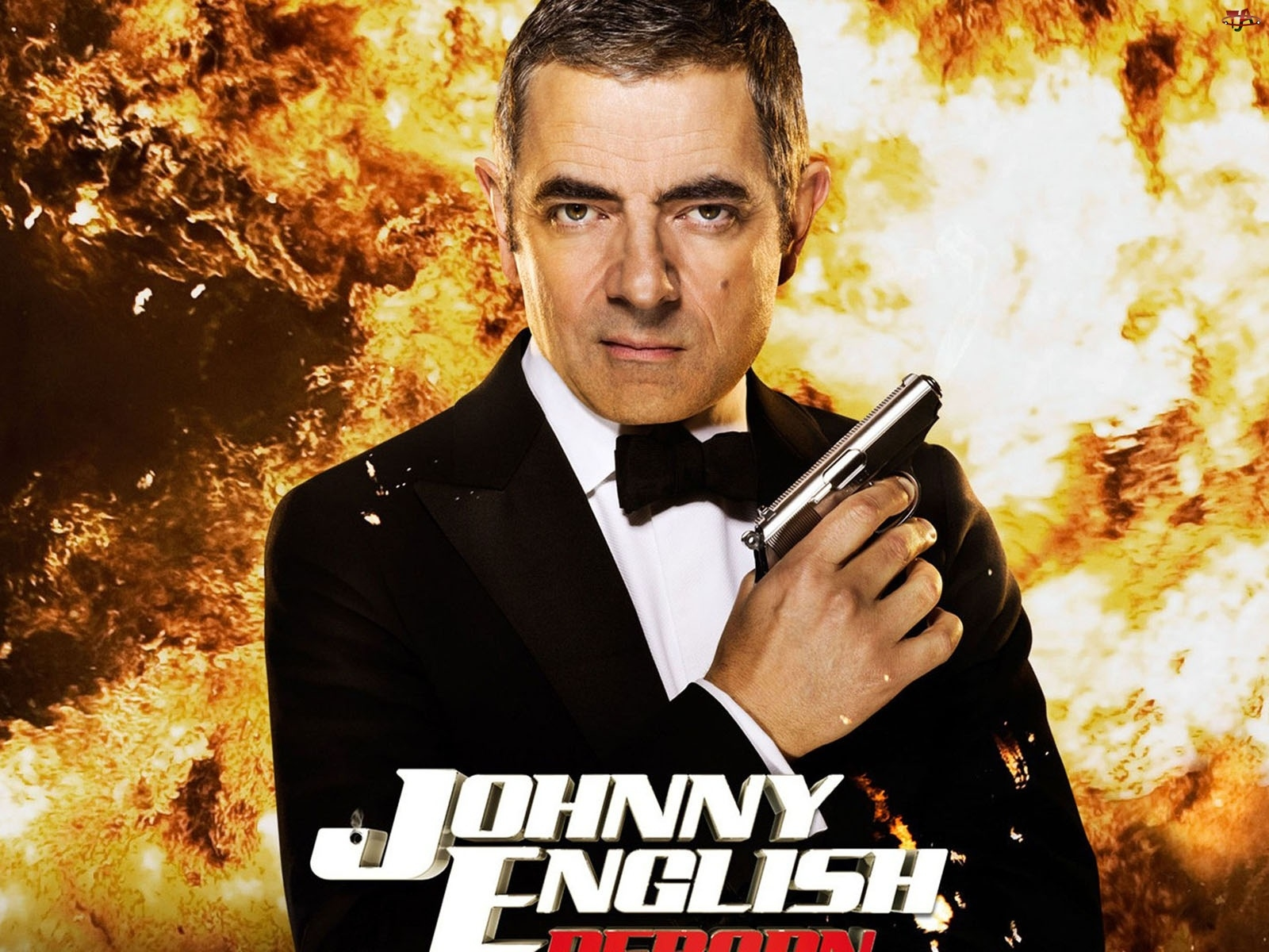 Johnny English, Aktor, Rowan Atkinson, Film