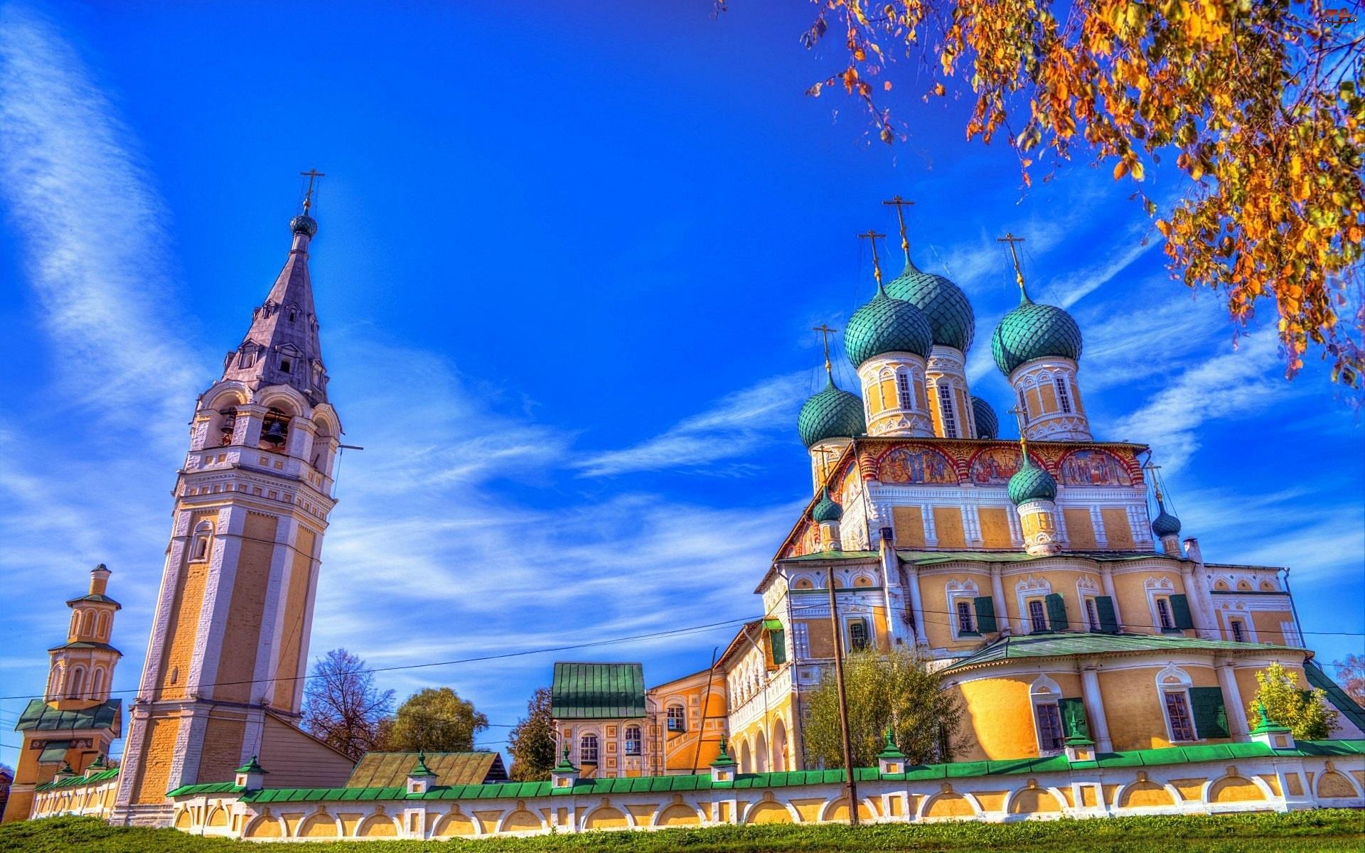 Drzewo, Cerkiew, Niebo