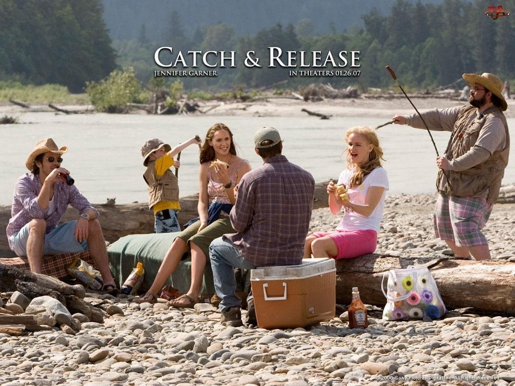Catch And Release, rzeka, Kevin Smith, ludzie