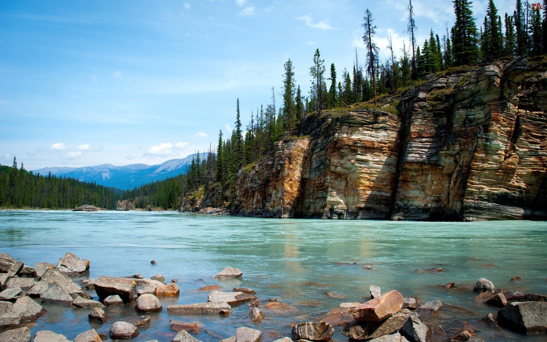 Góry, Rzeka, Lasy, Skały
