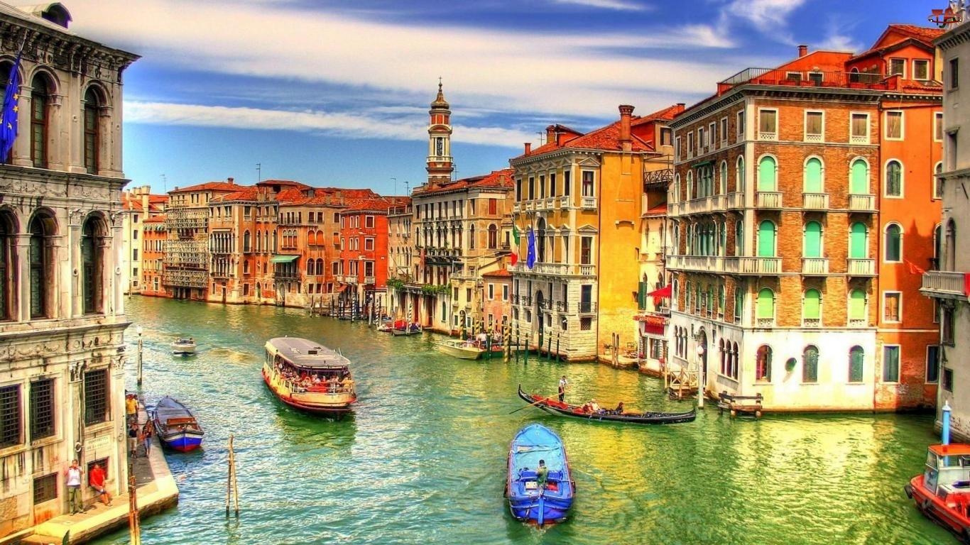 Domy, Wenecja, Kanał