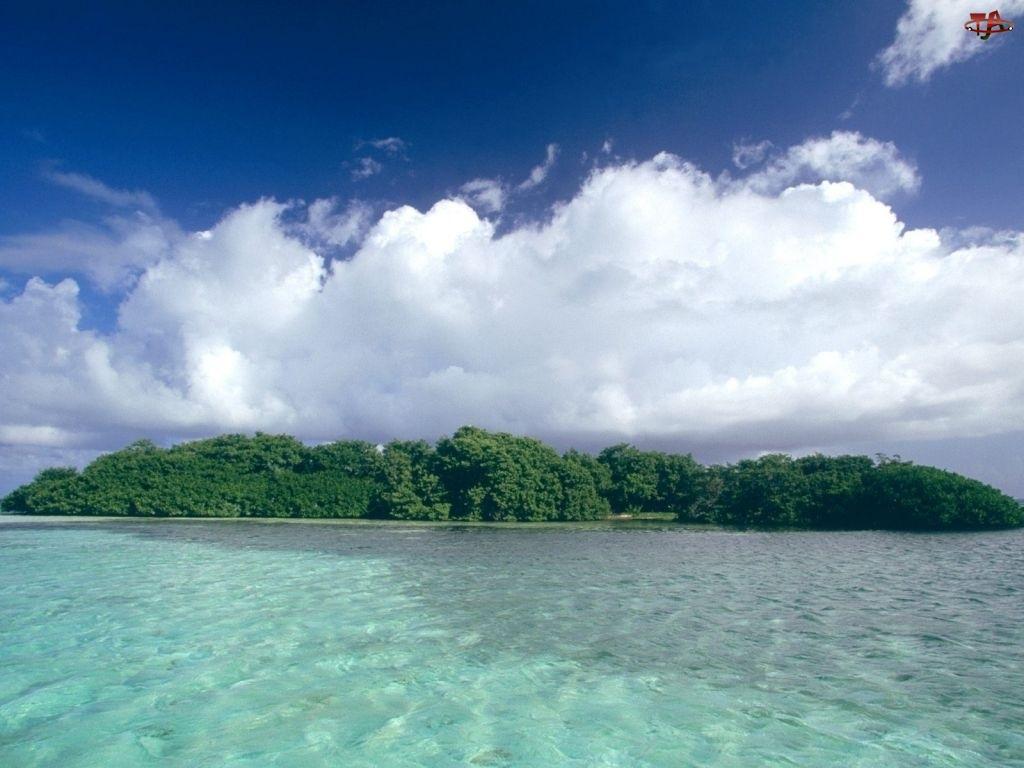 Chmura, Wyspa, Morze