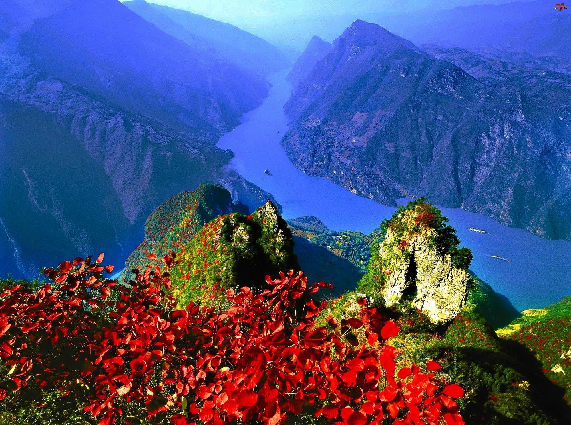 Kwiatki, Góry, Rzeka