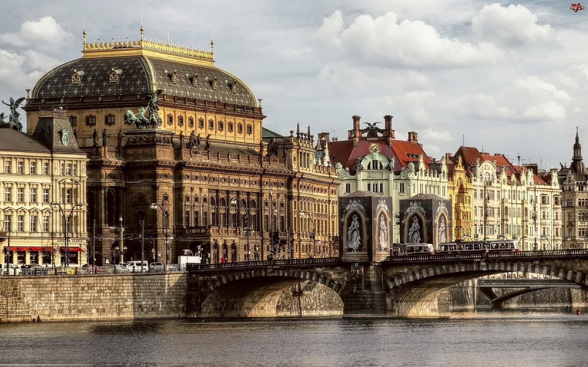 Miasto, Rzeka, Zabytki, Most
