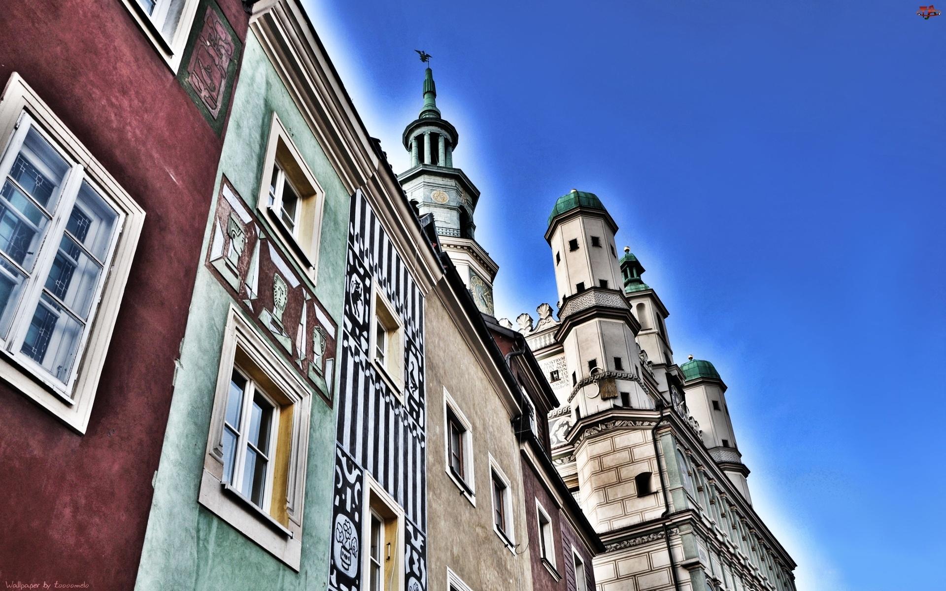 Poznań, Stary Rynek, Ratusz, Kamienice