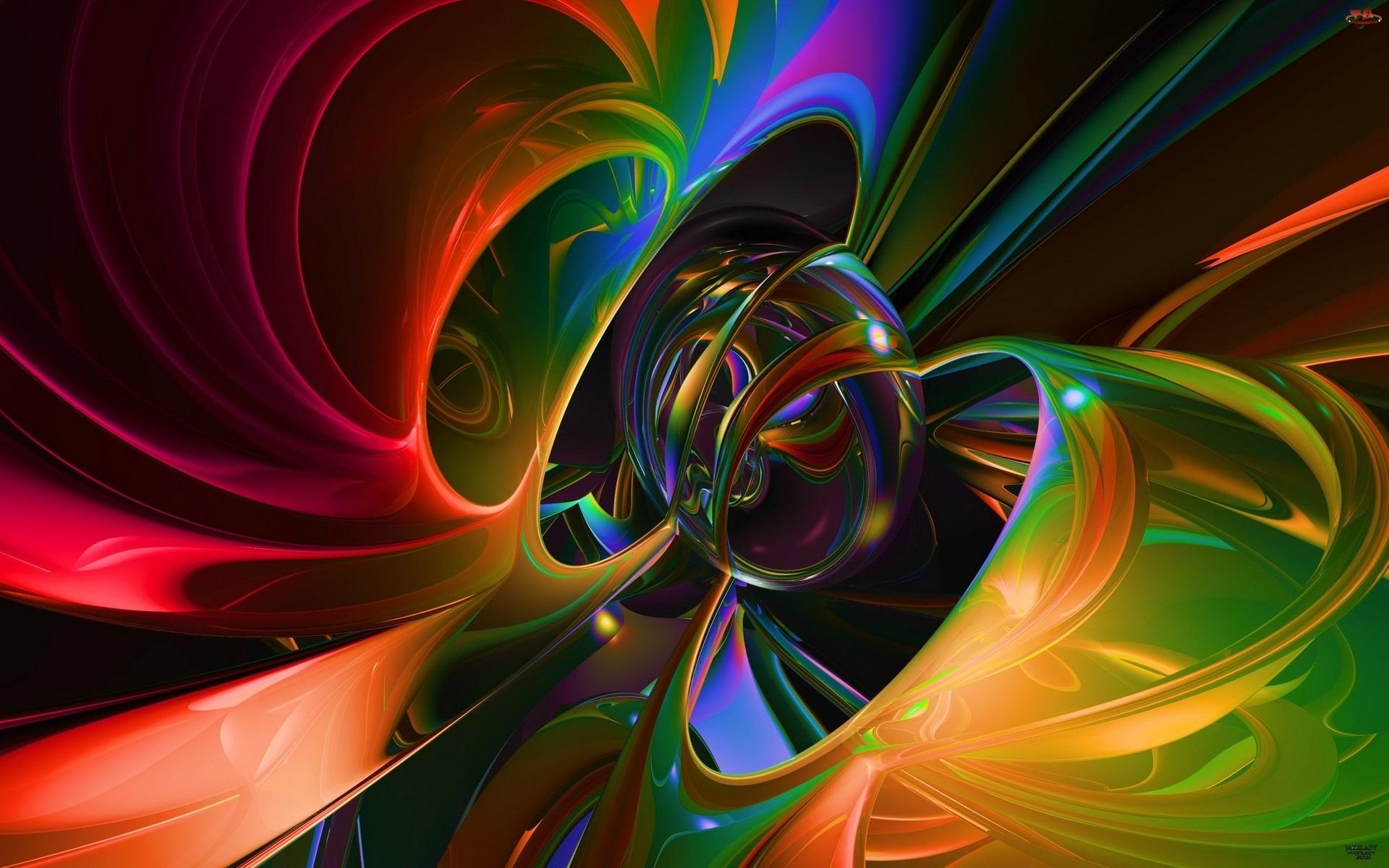 Kolorowa, Abstrakcja