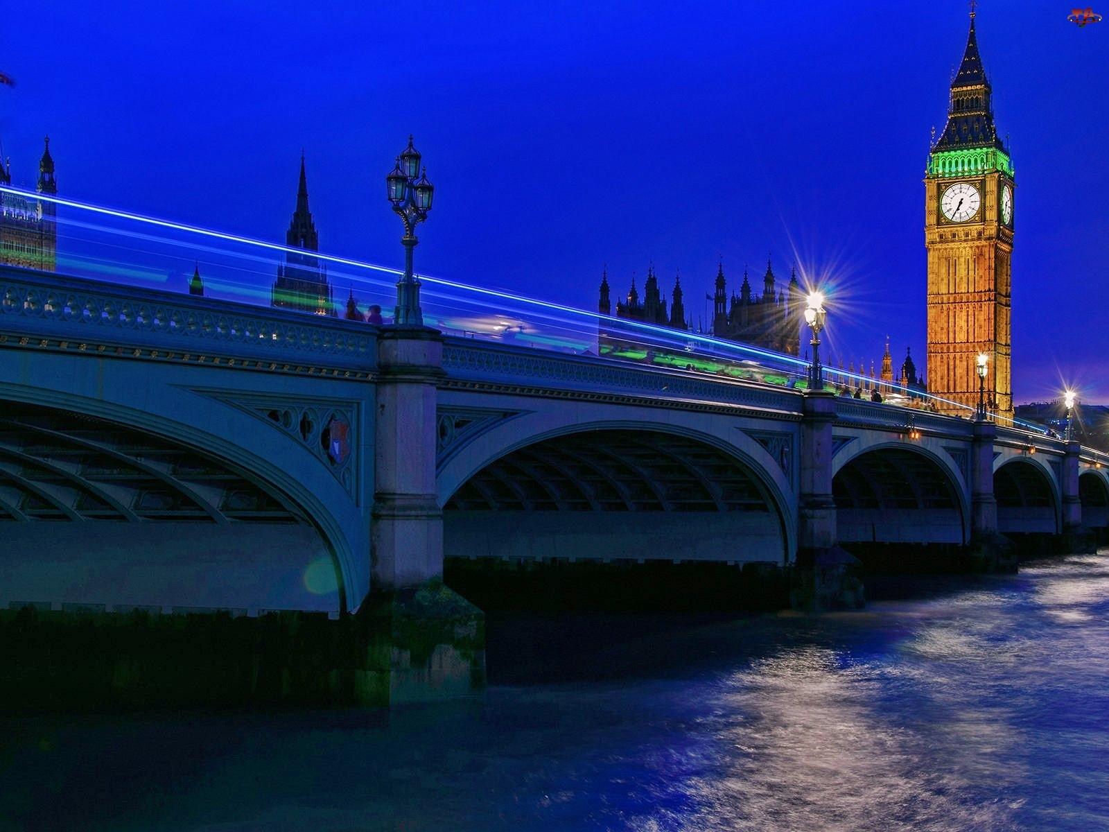 Londyn, Most, Big Ben