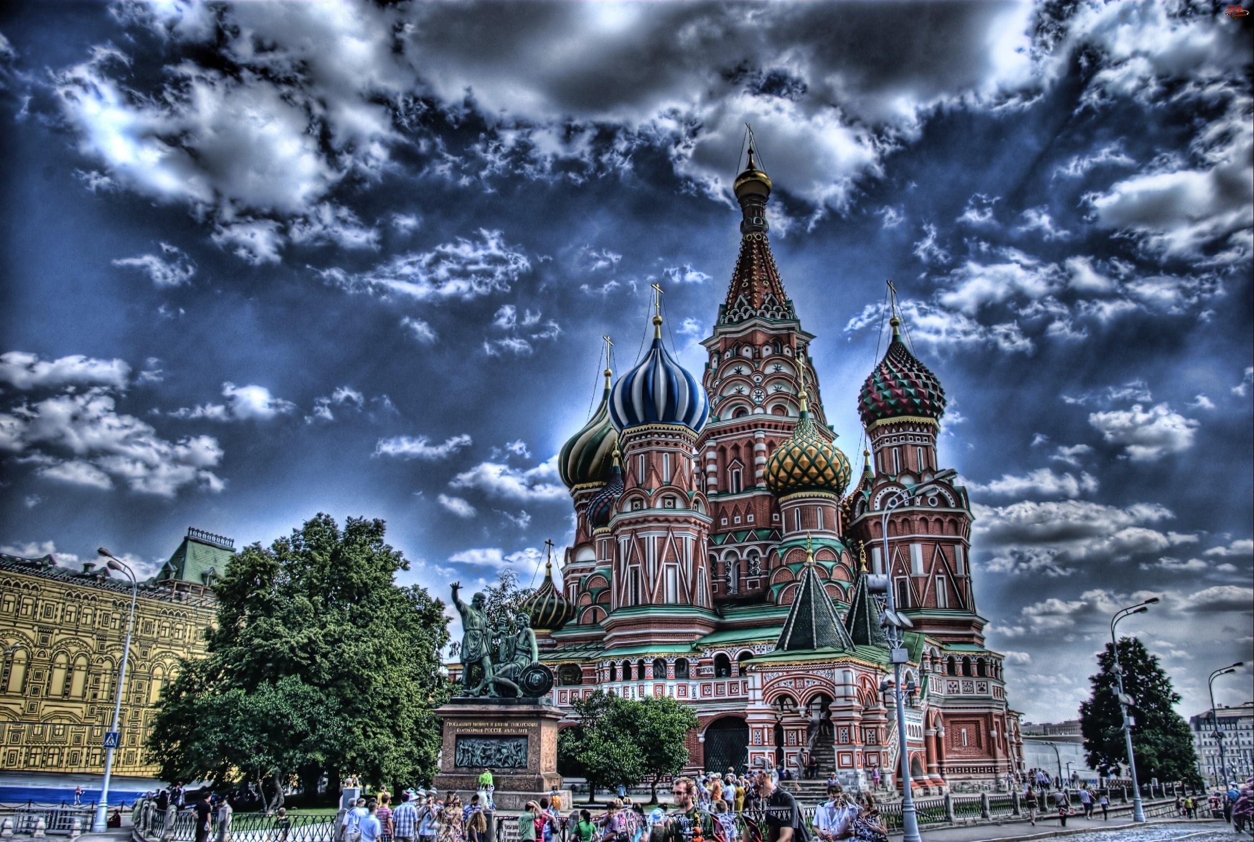 Rosja, Cerkiew Wasyla Błogosławionego, Moskwa