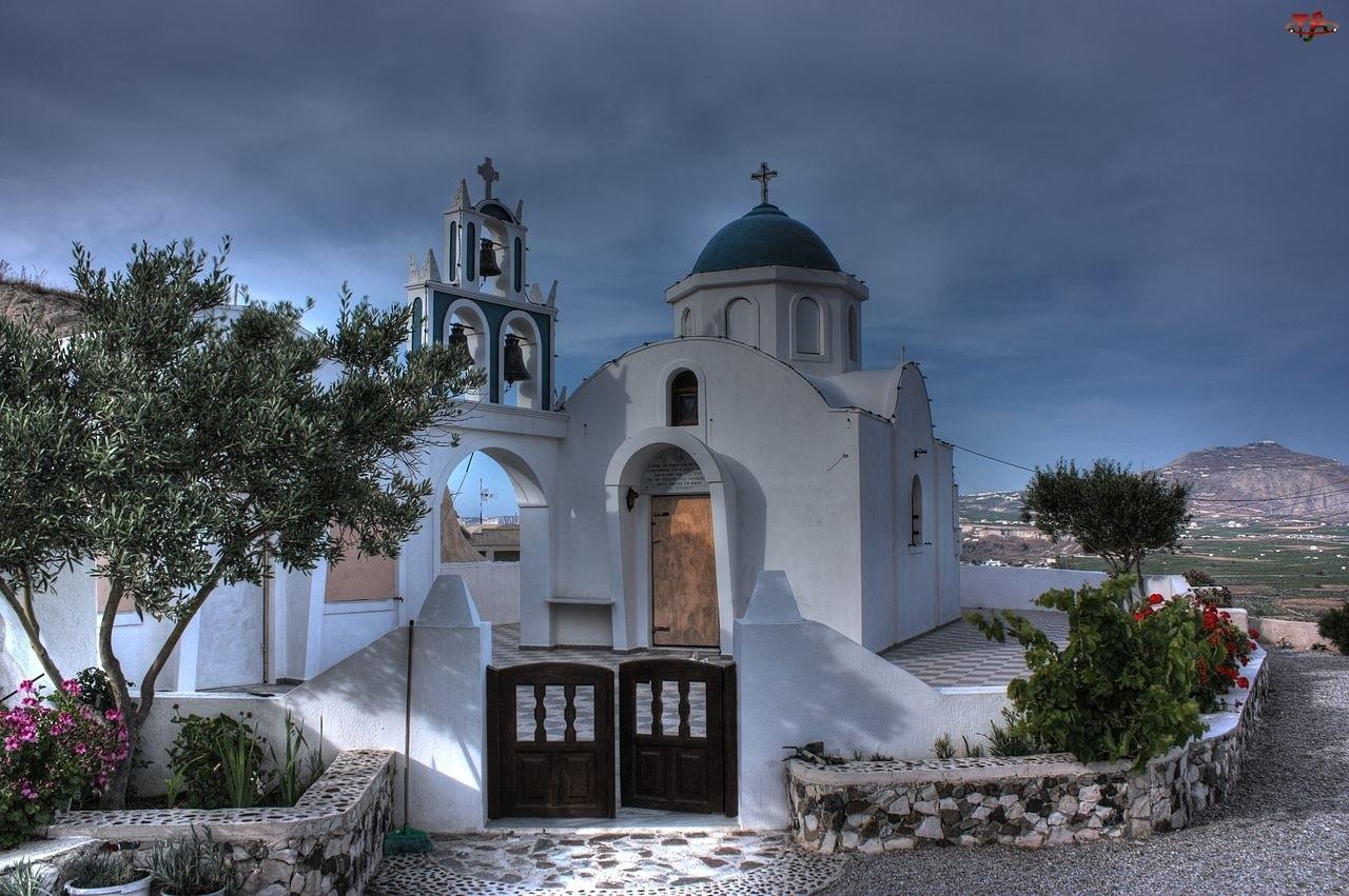 Grecja, Cerkiew, Santorini
