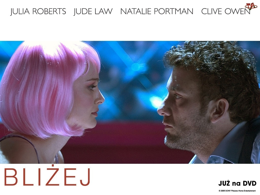 mężczyzna, Closer, Natalie Portman