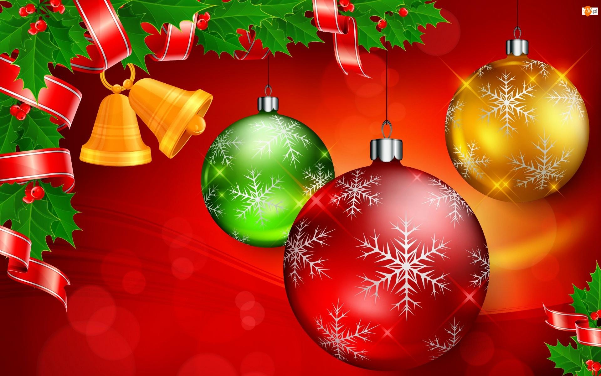 Bombki, Boże Narodzenie, Dzwonki