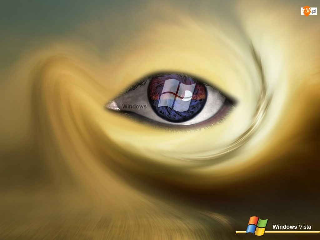 Oko, Windows, Vista