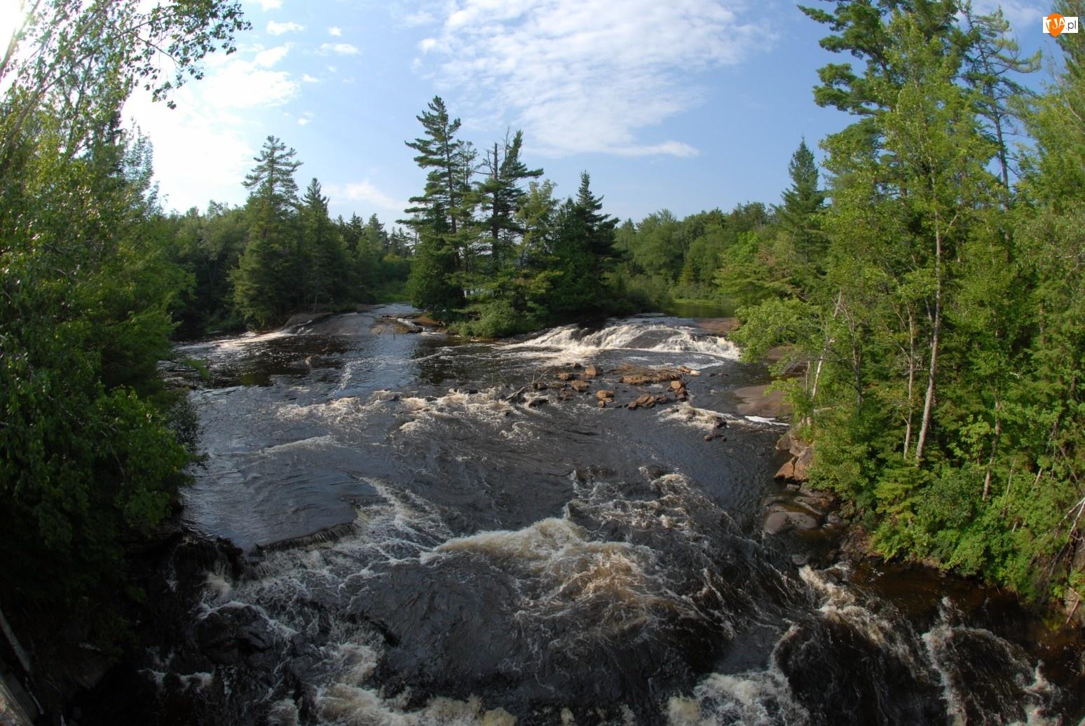Lasy, Rzeka, Kamienie