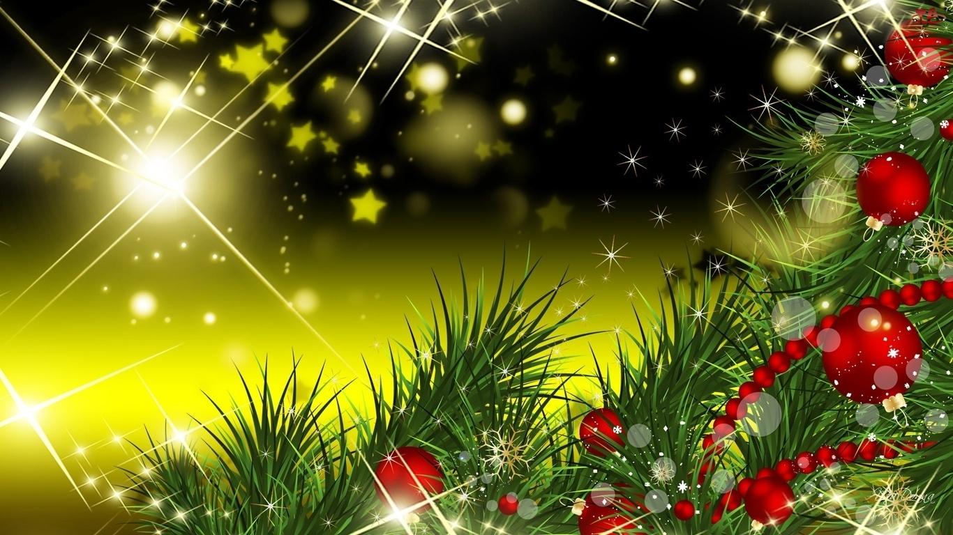 Boże Narodzenie, Gałązki, Bombki, Choinkowe