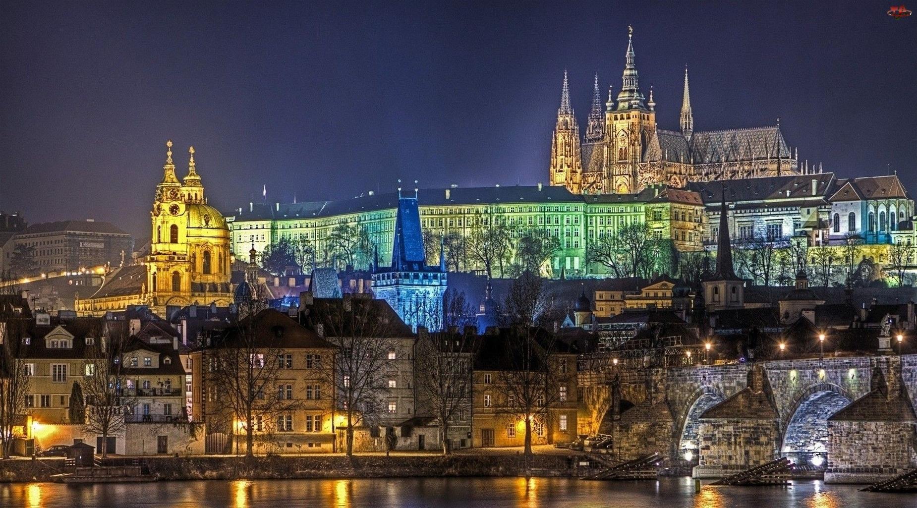 Zabytki, Czechy, Praga