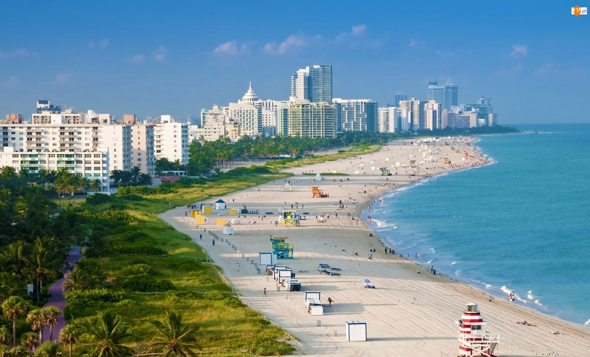 Panorama, Floryda, Miasta, Miami