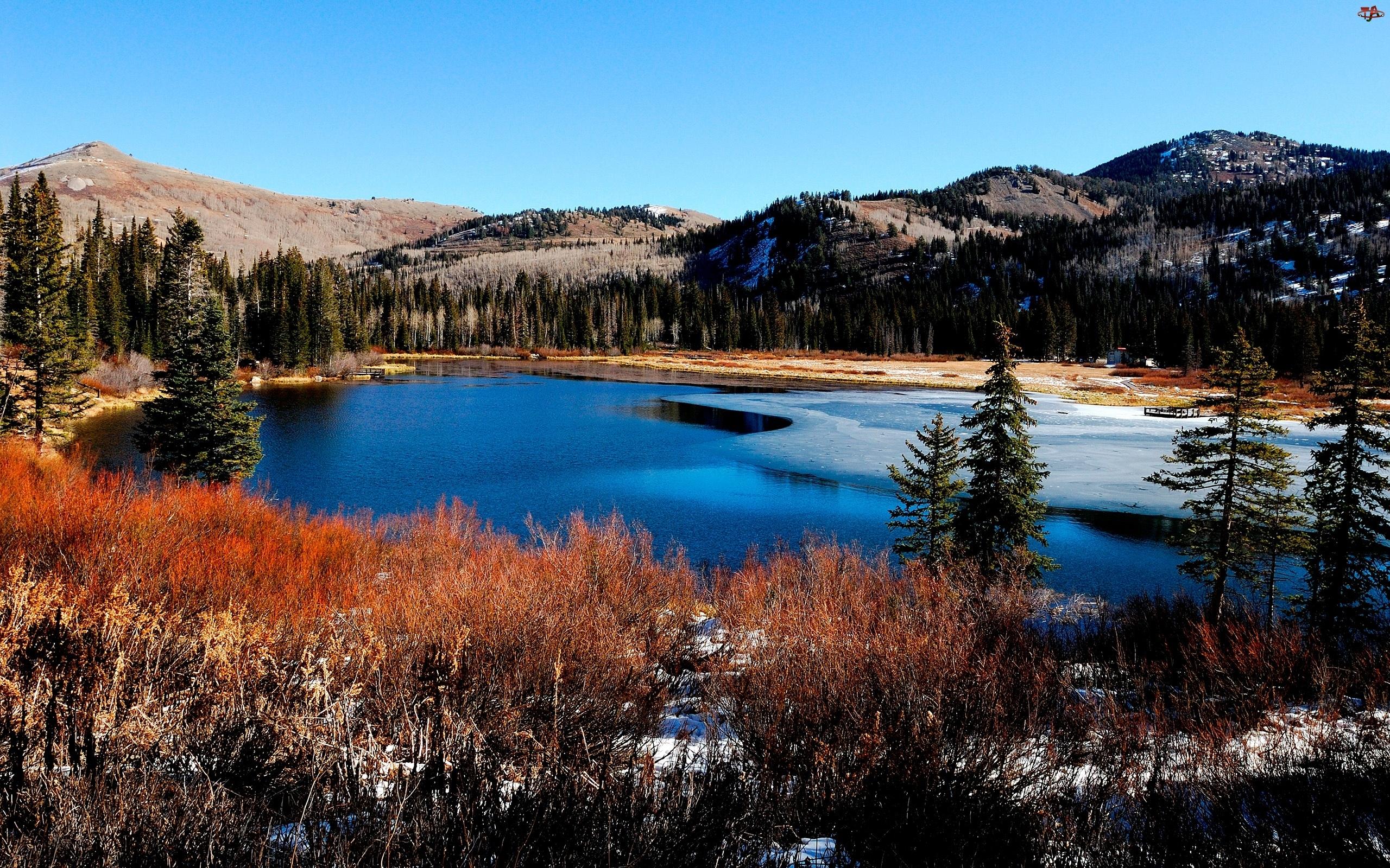 Jesień, Góry, Jezioro