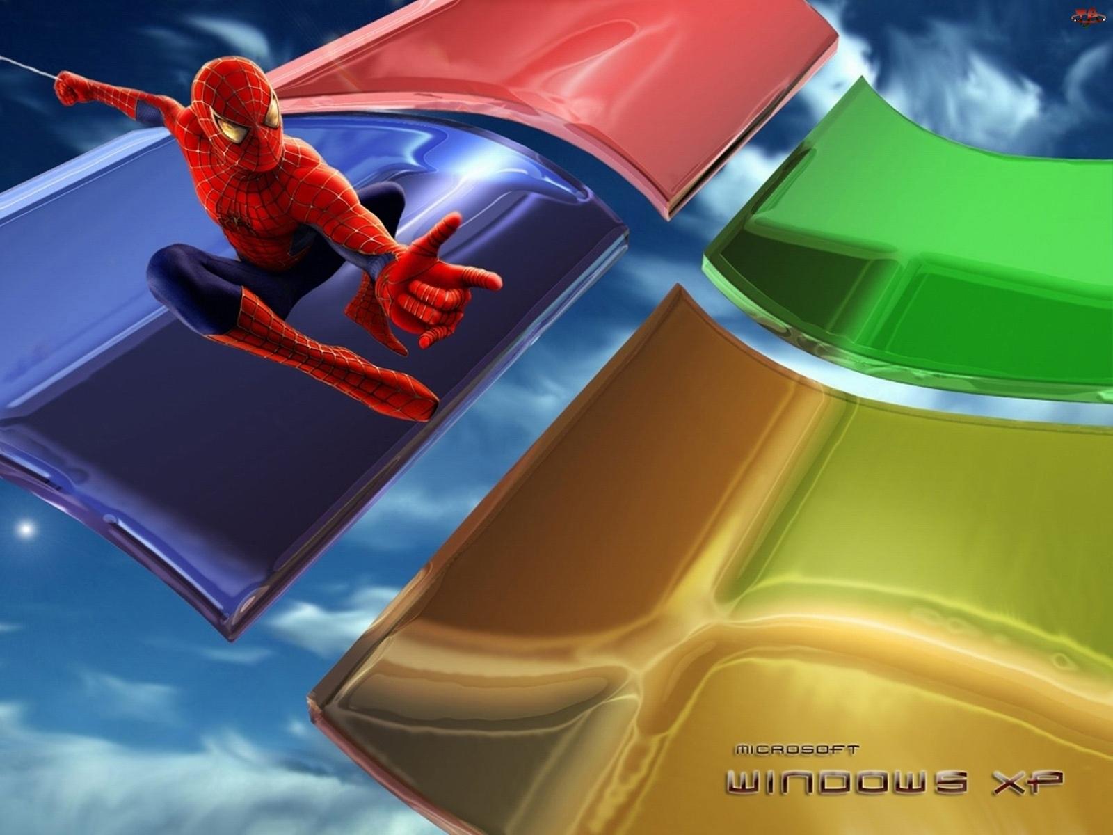 Spajderman, System, Windows, Operacyjny, Xp