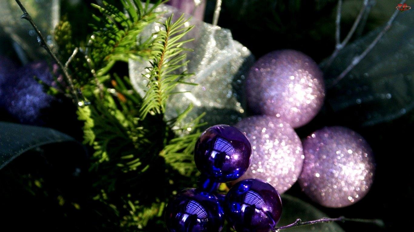 Świąteczne, Stroik, Dekoracje, Bombki